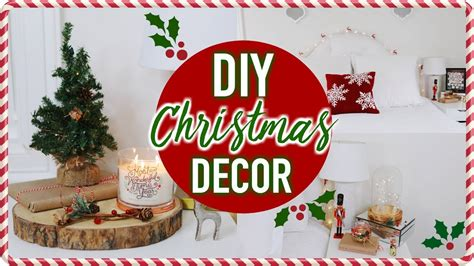 diy christmas room decor cheap easy ways  decorate