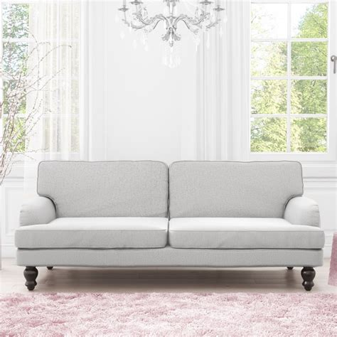 3 Seater Sofa Bed by Luxury Modern 3 Seater Sofa Sofa Bed In Light Grey Ebay