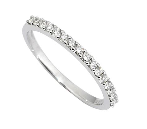 wedding engagement ring band 0 25 carat s solid 14k white gold ebay