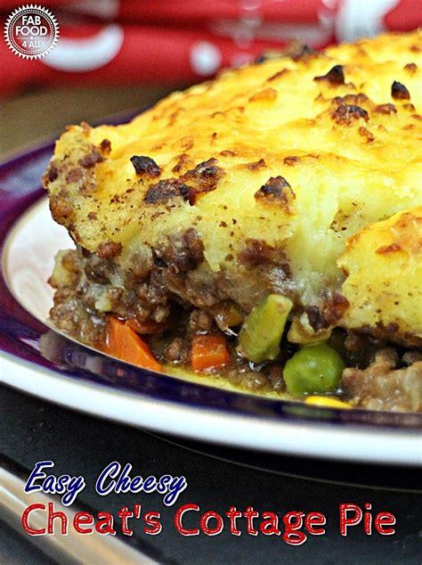 how do you make cottage pie easy cheesy s cottage pie poweroffrozen