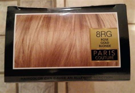 L'oreal Paris Superior Preference 8rg Rose Gold Blonde