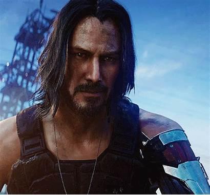Cyberpunk Keanu Reeves 2077 Burn Var Ud