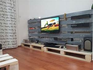 tv stand from used pallets home ideas pinterest used With homemade tv furniture