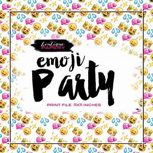 Emoji Digital Paper Emoticon Digital Background Emoji