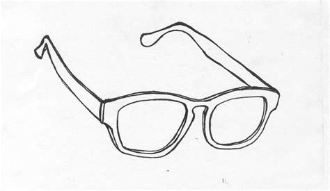 Aviator Sunglasses Drawing
