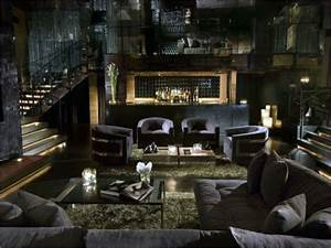 55, Cozy, Man, Cave, Living, Room, Decor, Ideas