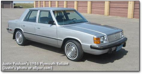 Car of the Month, December 2013: 1988 Dodge Aries America