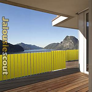 Balkon sichtschutz 3m o 5m lange viele farben for Französischer balkon mit sichtschutz aus stoff für garten