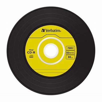 Vinyl Cd Record Label Verbatim Single Discs