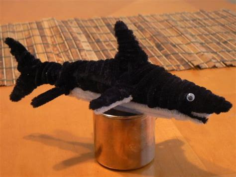 pipe cleaner animals crafts animal shark pipes cure cleaners limpiapipas craft hative chenille caterpillar activite guardado desde