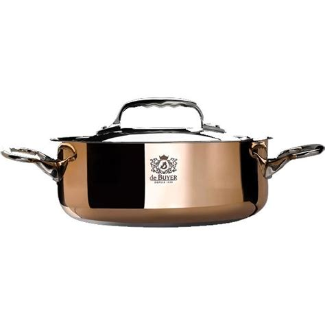 batterie de cuisine en cuivre de buyer sautoir couvercle cuivre prima matera ø 20