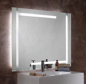 Gallery Lighted Wall Mirrors For Bathrooms Longfabu