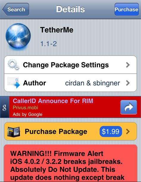 iphone hotspot app tetherme an iphone tethering app mobile news