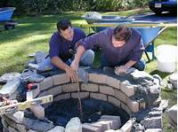 fire pit construction How to Build a Fire Pit - DIY Fire Pit | how-tos | DIY