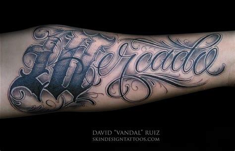 script tattoo skin design tattoo