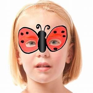 Maquillage Enfant Facile : maquillage coccinelle en vol ~ Farleysfitness.com Idées de Décoration