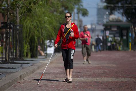 what to do when your goes blind vision system is a boost for blind independence