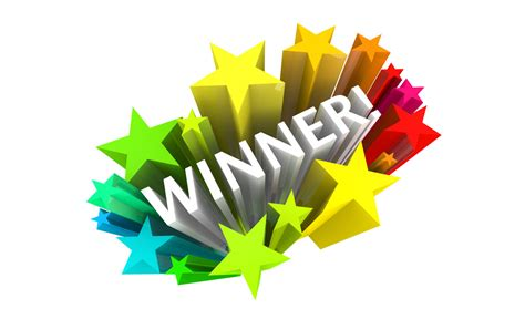 competition winners