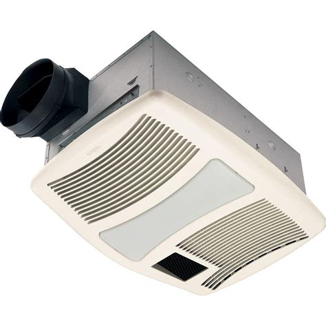 nutone light and exhaust fan nutone qtxn series very quiet 110 cfm ceiling exhaust fan