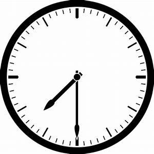 Clock 7 30