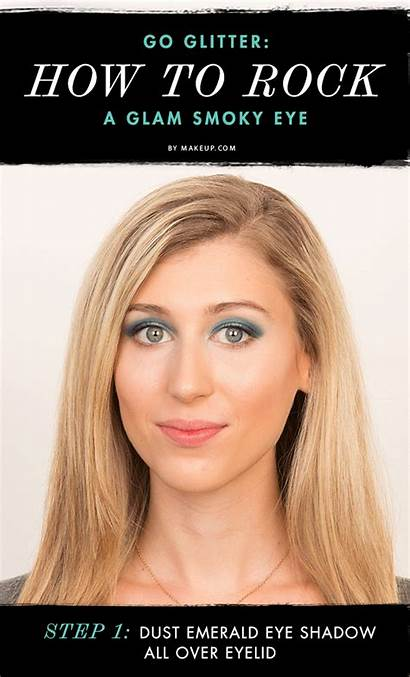 Glam Rock Makeup Eye Smoky Giphy Animated