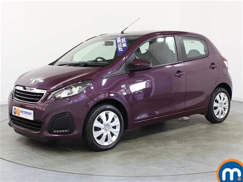 Used Peugeot For Sale by Used Peugeot 108 Cars For Sale Second Nearly New