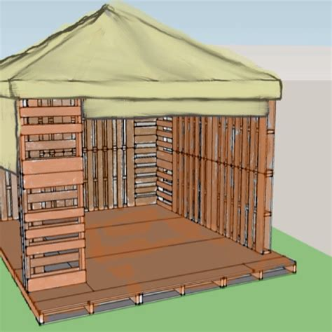 outdoor gazebo wood pallet gazebo hmmm project interior