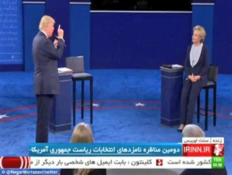 Iran Tv Live Iranian State Tv Live Streams Us Presidential Debate For