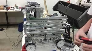 FTC 5598 Parish Robotics Scissor Lift Test - YouTube