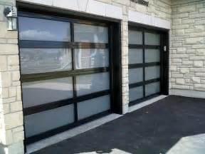 Garage Doors with Glass Panels