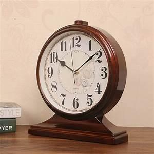 European, Big, Size, Livingroom, Clock, Classic, Mens, Quartz, Watches, Black, Bedroom, Desk, Clock, Abs