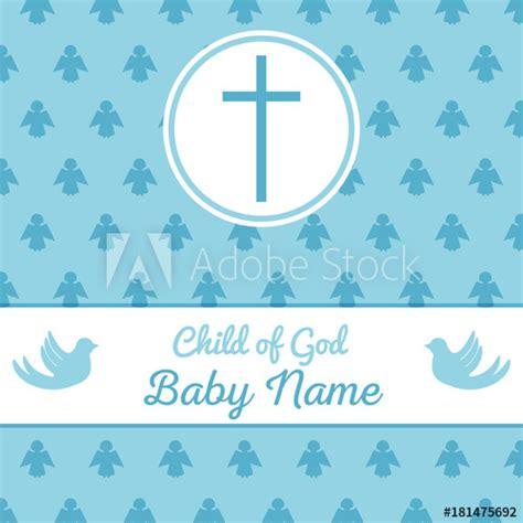 """""""baptism invitation template"""" Imágenes de archivo y"""