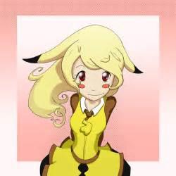 Anime Pikachu Girl Drawing
