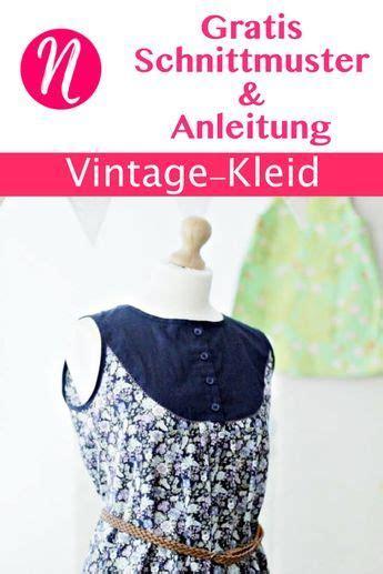 vintage kleid f 252 r damen gr 36 46 freebook page sewing patterns free sewing clothes