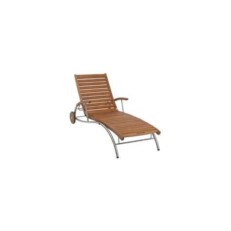 chaise inox chaise longue en inox acacia lake louise plantes et