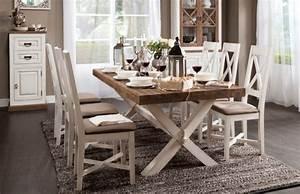 MEUBLE DE CAMPAGNE Table Manger En Bois Massif TABLE