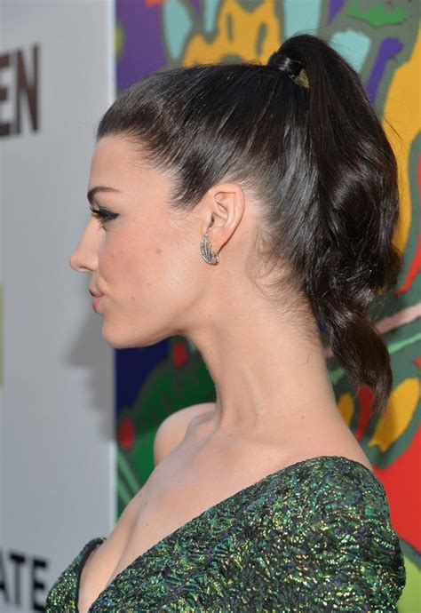 Jessica Pare Sexy High Ponytail for Thin Hair   Styles Weekly