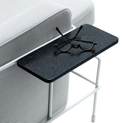 tablette pour canapé tablette accoudoir pour assises traffic gris anthracite
