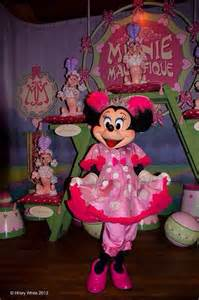 Minnie Mouse at Disney World