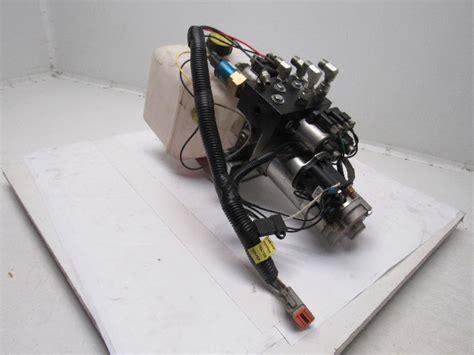 lippert lci  hydraulic  valve pump assembly bullseye