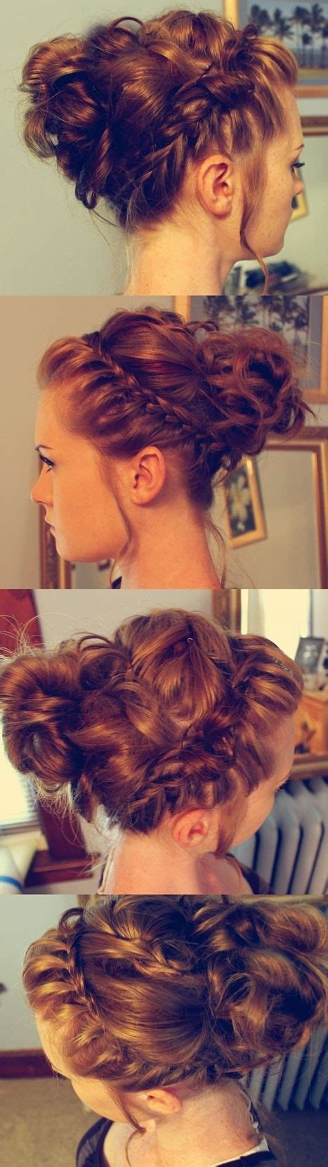 8 Chic Braided Updos: Updo Hairstyles Ideas   PoPular Haircuts