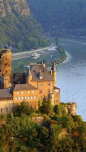 SCHONBURG CASTLE. -Rhine River-Germany | Somewhere in the ...