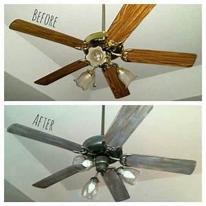 Best ceiling fan makeover ideas on