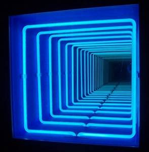 Pioneering Light Artist Paolo Scirpa s Infinite Neon Loops