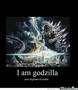 Godzilla by ajccole - Meme Center