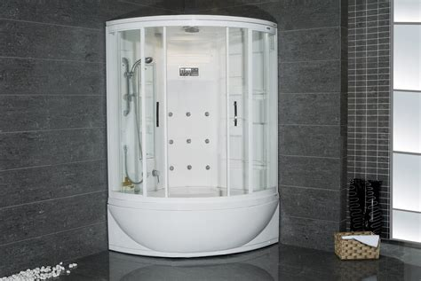 Whirlpool Tub With Shower by Corner Shower With Whirlpool Tub Viendoraglass