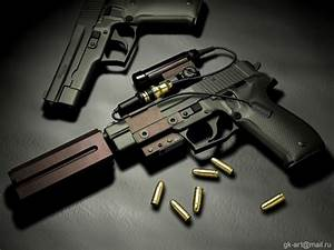 Guns & Weapons: Cool Guns Wallpapers #1