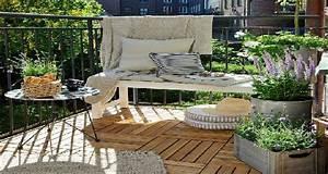 5 deco balcon petit budget grandes idees prises sur pinterest With idee deco cuisine avec pinterest deco exterieur