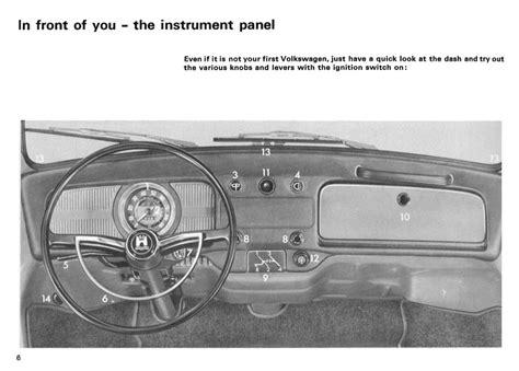 download car manuals pdf free 1967 volkswagen beetle transmission control thesamba com 1968 beetle owner s manual