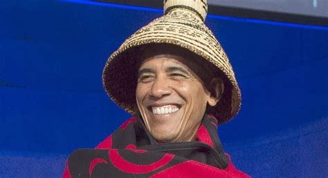 obama wears hat breaking politics  rule  headgear